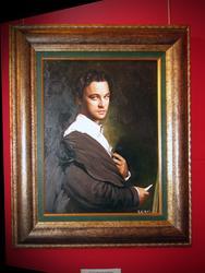 Портрет Леонардо ди Каприо. 2006г.