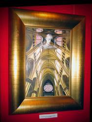 Сон Ангела, благословляющего храм. 2006г.