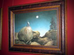 Луна, освещающая камни. 2007