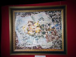 Натюрморт в золотой клетке в стиле дримвижн. 2008г.
