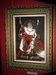 Царственный тигр в одежде Наполеона. 2009г.