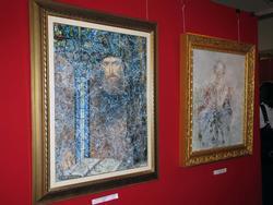 Явление Нострадамуса через паутину истории. 2007г./Иллюзия портрета. 2008г.