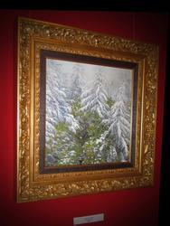 Первый снег. 2007г.