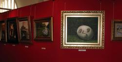 Экспозиция выставки Никаса Сафронова