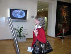 В фойе Центра «Эрмитаж-Казань»