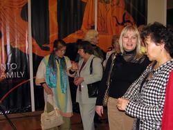 Перед открытием выставки «Дети Богов»