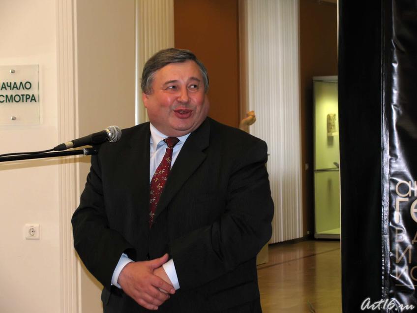 Владимир Матвеев::Открытие выставки «Дети Богов»