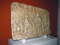 Надгробный рельеф Ольбиогена, сына Аполлония