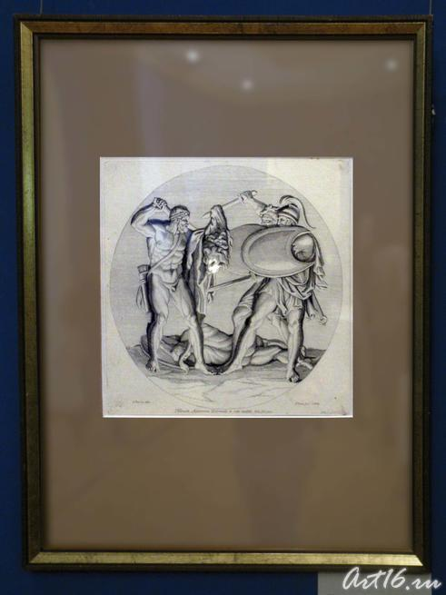Геракл сражается с Диомедом и его слугой::Открытие выставки «Дети Богов»