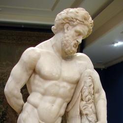 Статуя отдыхающего Геракла