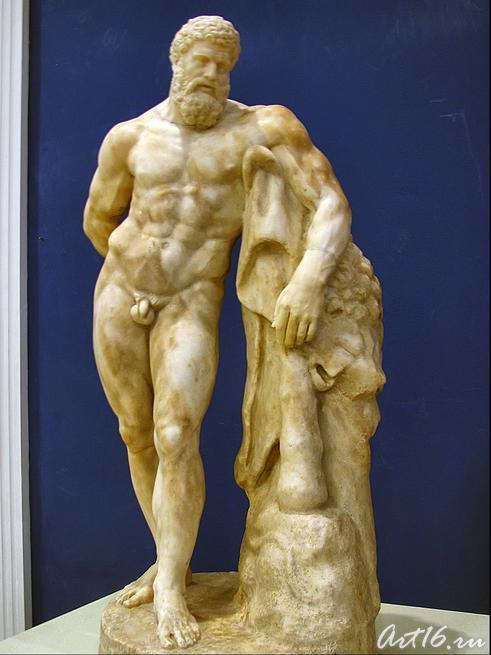 Отдыхающий Геракл::Открытие выставки «Дети Богов»