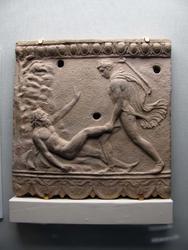 Рельеф Кампана с изображением подвига Тезея