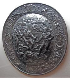 Щит овальный: Аякс и Одиссей спорят из-за доспехов Ахилла