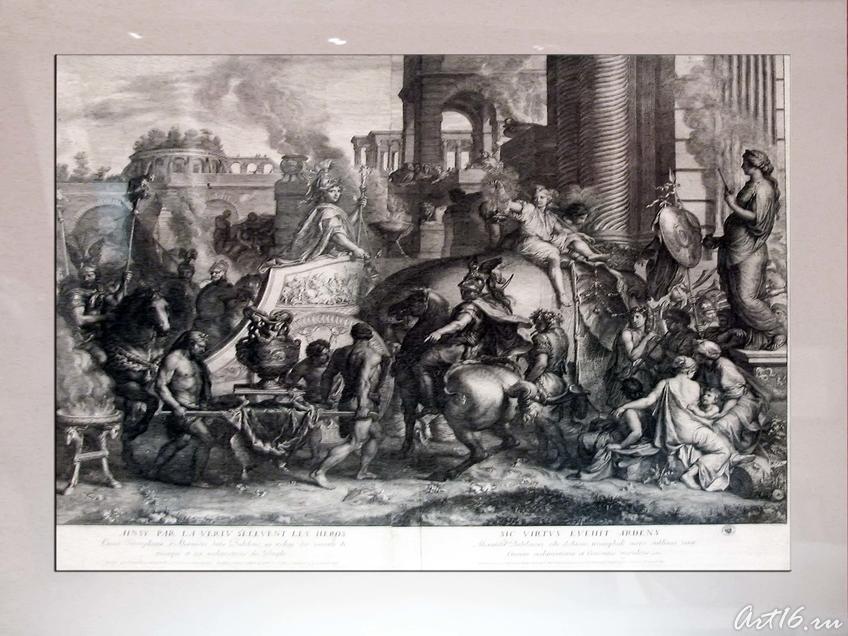 Фото №35619. Жерер Одран (1640- 1703).Триумфальное вступление Александра Македонского в Вавилон
