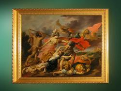 Геркулес и Минерва, изгоняющие Марса. 1630-1640-е