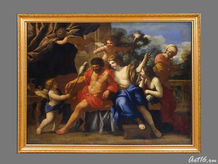 Фото №35644. Геркулес и Омфала.