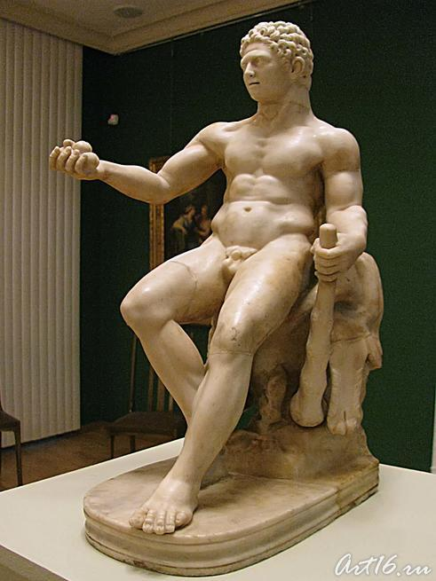 Пирующий Геракл::Открытие выставки «Дети Богов»