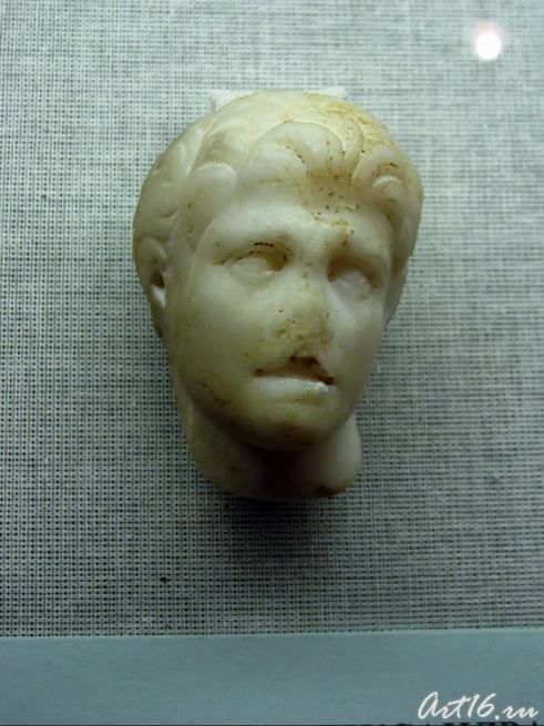 Голова Александра (фрагмент статуэтки)::Открытие выставки «Дети Богов»