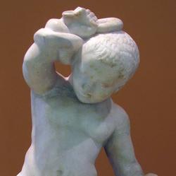 Младенц Геракл, удушающий змей