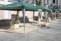 Международный симпозиум по скульптуре «МЕЛОДИЯ КАМНЯ» (Казань, июль 2014)