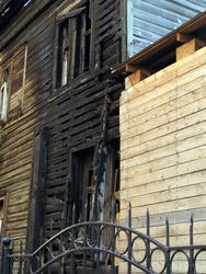 После пожара «Дом Каушчи»