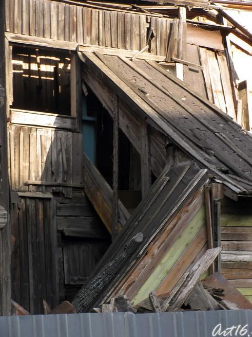 Фрагмент пристроя к «Дому Каушчи»::Казань