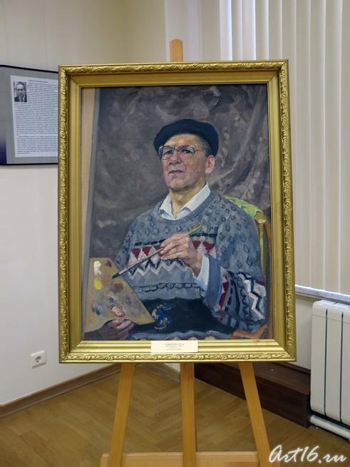 Автопортрет. 2003г.::Рафиков Искандер Валиуллович