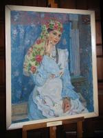 Портрет юной актрисы. 1980г.
