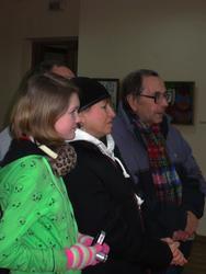 Открытие выставки Л. Евграфовой