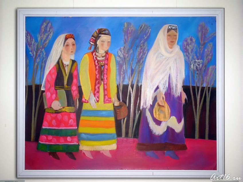 В гости. 1991::«Грани творчества» Кильдибеков Р. А.