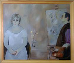 Художник и модель. 2009