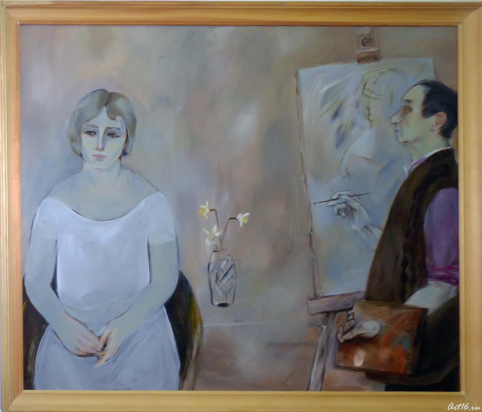 Фото №36908. Художник и модель. 2009