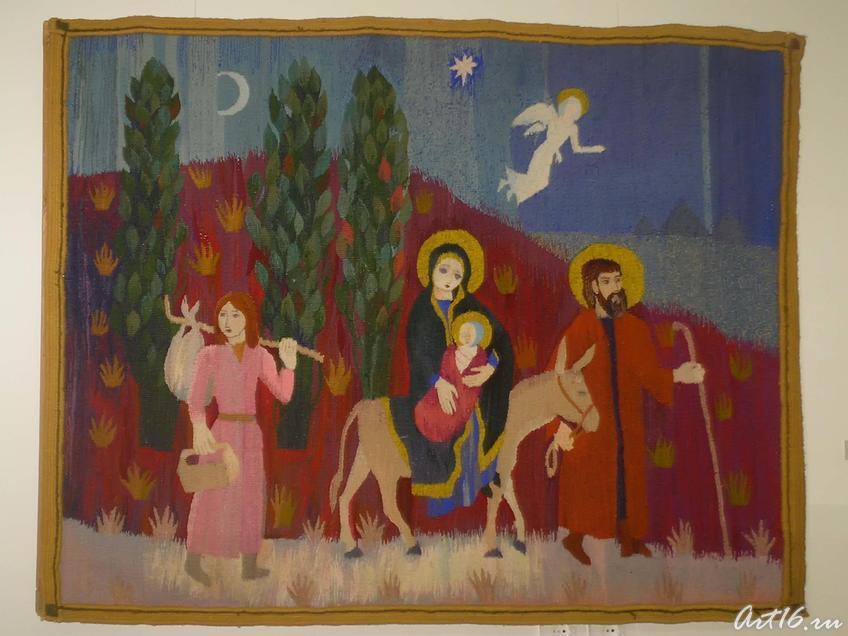 Бегство а Египет. 1990::«Грани творчества» Кильдибеков Р. А.