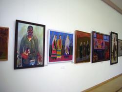 Экспозиция выставки «Грани творчества»