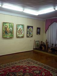 Фрагмент экспозиции выставки «Мир Тукая»