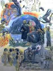 «Поэзия и проза», 1987. Иллюстрация к стихотворению Г.Тукая