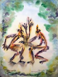 «Танцующие Шурале», 1987