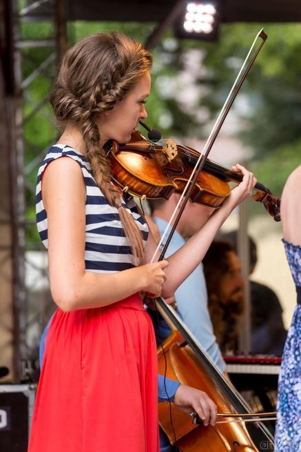 Наталья Голуб (Natalia Golub) — альт (viola)::24 июля 2014 «Authentic Light Orchestra» (Швейцария)