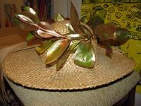 Соломенная шляпа из солнечной Греции