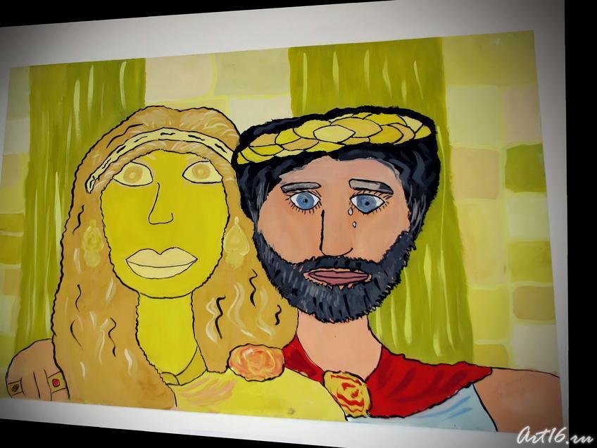 Мифы древней Греции «Царь Мидас»::«Античные герои в творчестве юных художников»