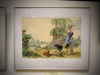 Иллюстрация к стихотворению Г. Тукая «Водяная»1, 1968