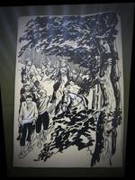 Иллюстрация к книге Ф. Карима «Тирэн кул»