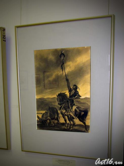 Иллюстрация к книге «Идегей», 1941::Альменов Байназар Мустафьевич