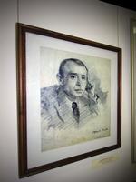 Портрет Сибгата Хакима. 1950