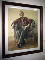 Старик в кресле. 1940-е