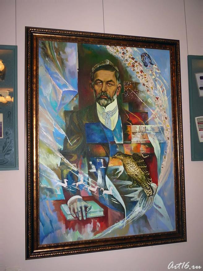 Портрет Закира Рамиева (Дэрдменда):: Закир Рамиев-Дэрдменд (1859-1921)