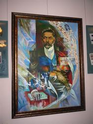 Портрет Закира Рамиева (Дэрдменда)