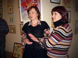 На открытии выставки-презентации «Художников выходного дня»
