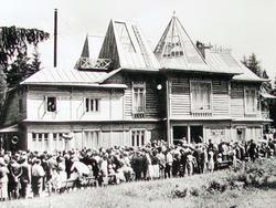 Открытие возрожденной усадьбы. 24 июня 1962 года