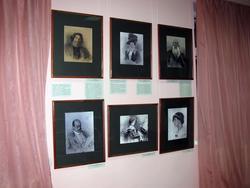 Фрагмент портретной части выставки «Альбом Нордман»